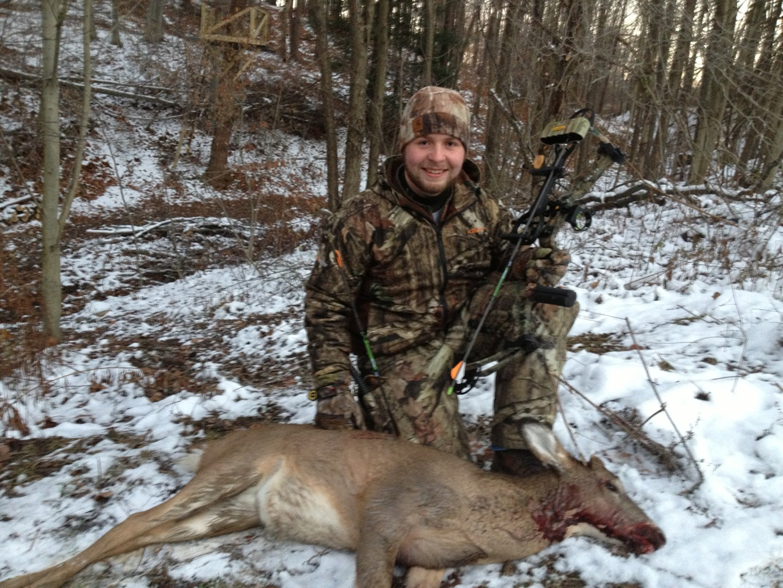 Ben Barclay first archery kill
