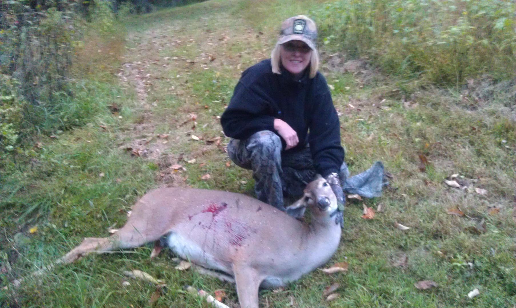 Kim Hicks first deer