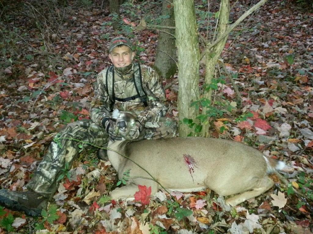 Noah Kris first archery doe