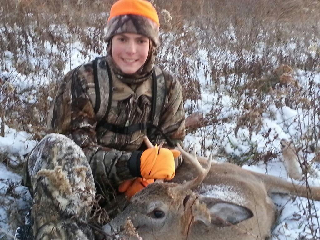 Noah Kris first archery buck