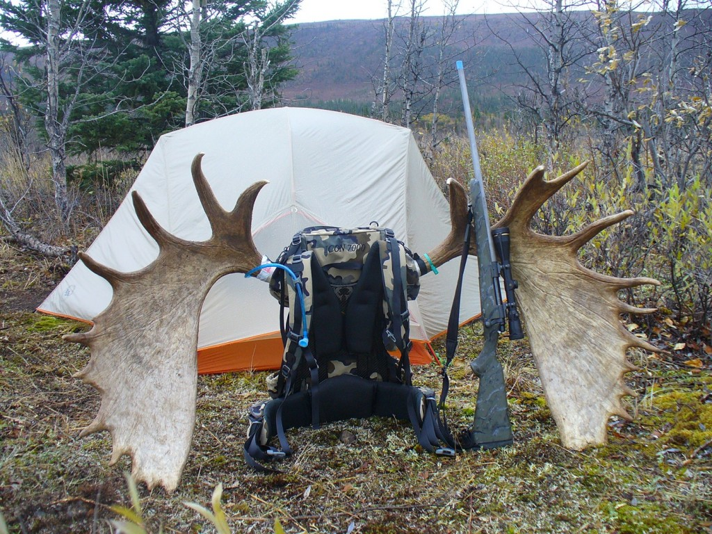 Steve Boswell's moose camp
