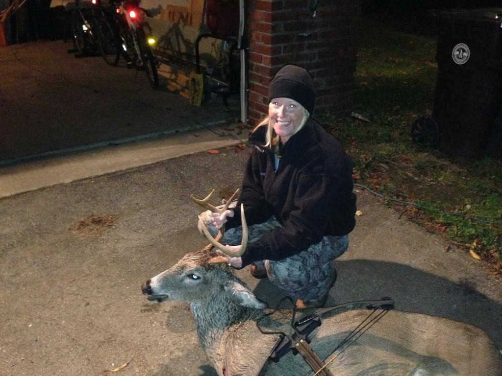 Kim Hicks Archery buck 2014
