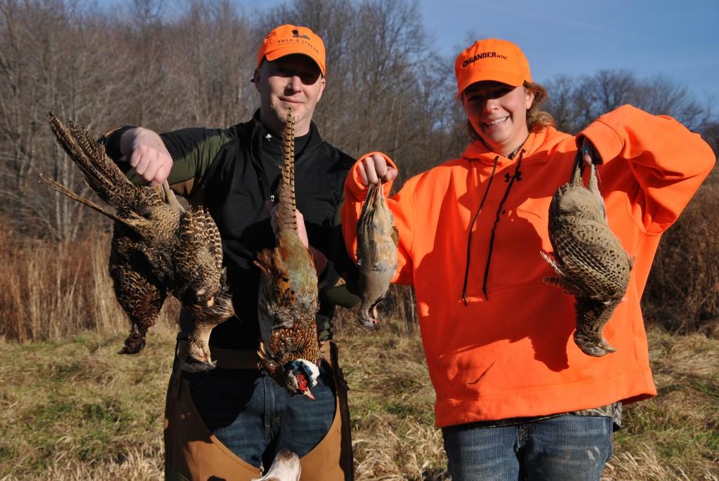 Pheasant Hunt  12/27/14