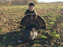 Sammy Brunatti PA 2015 first turkey