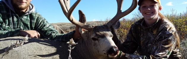 My First Mule Deer Hunt